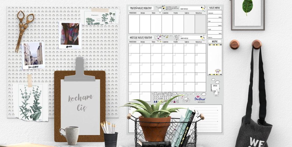 planer, planowanie, domowe centrum zarządzania